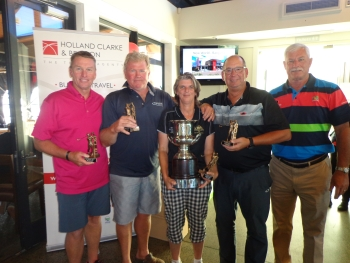Golf Day 2017 - Winners - The Pegasus Golf Club Team
